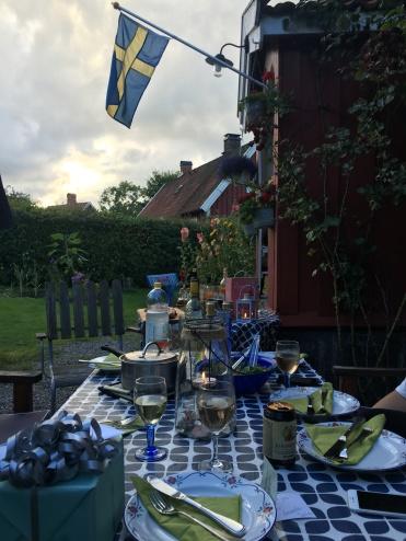 Swedish al fresco!