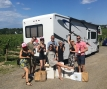 The Wine Wagon at Vineland Estates in Niagara, Ontario
