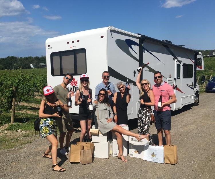 Wine Wagon - Vineland Estates