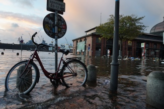 Hamburg flood 29.10.17