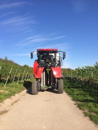 Grapeliner Harvest Machine