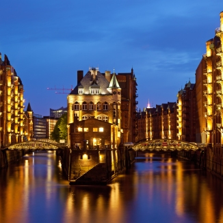 Speicherstadt - photo credit: Wikipedia